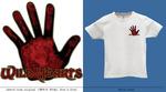 Эскиз футболки для Wild Hearts (грудь)