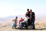 Маша, мама, я, Эрик и Арман :) Арарат!