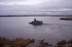 Этот же ГДТ при плаванье по озеру, подбираем уток