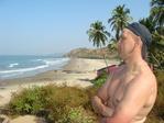 Вагатор- Бич, Гоа, Индия