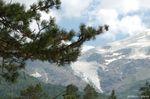 Склон Иткола, вид на ледник Когутай
