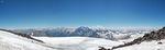 панорамко с Приюта Одиннадцати (4200 м)