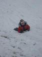 Мелкий в снегу )