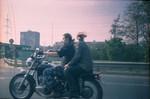 1999 - 2000г. С мужем мчали по МКАД )) Было время
