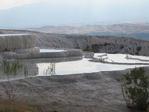 Восстанавливаемые травертины в Памуккале