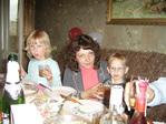 Жена Аня и доченька Полина. Сынок Егор.