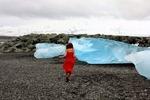 Исландия, на Ледниковом озере.