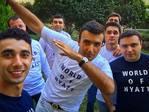 #hyattregencybaku #worldofhyatt #hyatt #inahyattworld #frontoffice #loyaltyprogram #dab #pogbastyle #bestinregion #summergarden #specialist — в Hyatt Regency Baku.