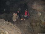 Бивачный костерок из свечей))