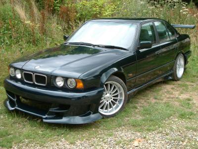 Фотографии тюнинга BMW E34…
