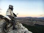 Мой второй мотоцикл HONDA CBR 600RR с видом на Горы Крыма