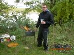 Шашлычек - закрытие летнего сезона у Тракайского озера