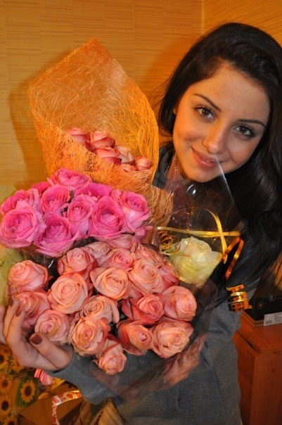 Кавказское поздравление девушки