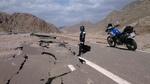 Дорога Шарм-Дахаб после дождя.